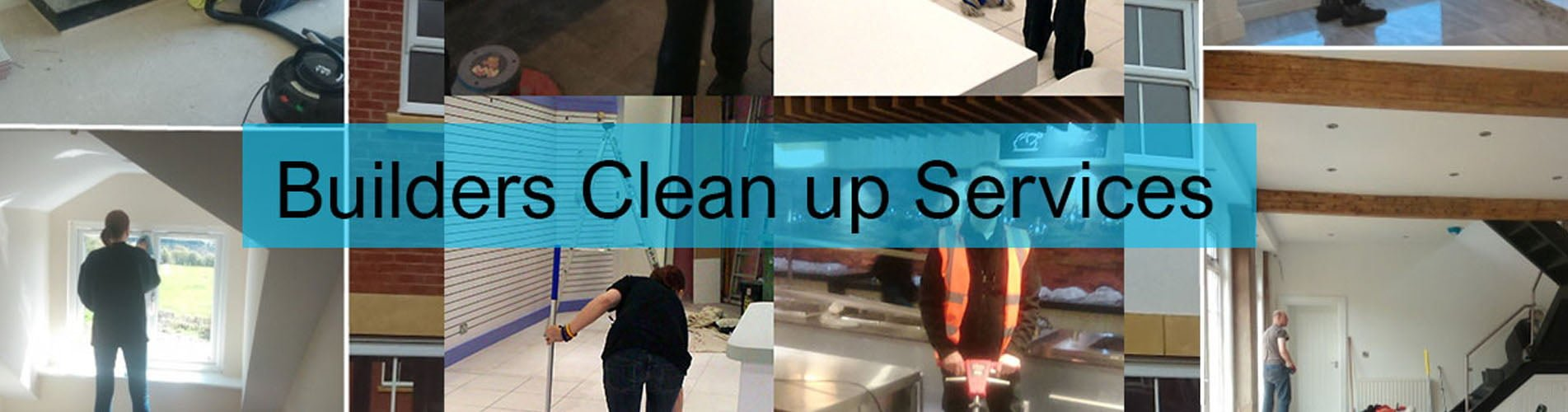 Construction builders cleaning